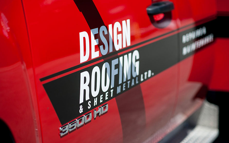 Detail Roofing Truck