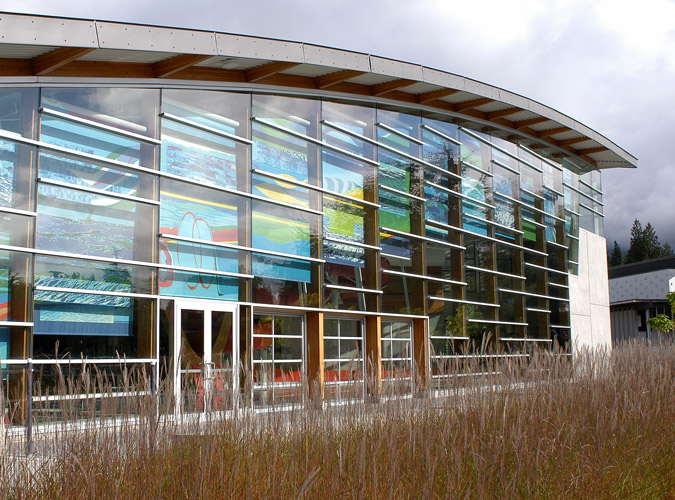 West Vancouver Aquatic Center Detail